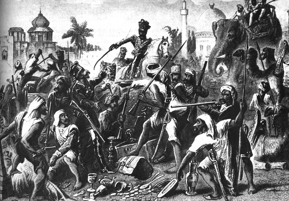 Индийское восстание 1857 года
