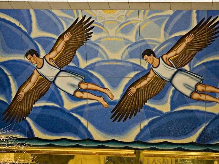 Исмаил ибн Хаммад аль-Джавхари и крылья,