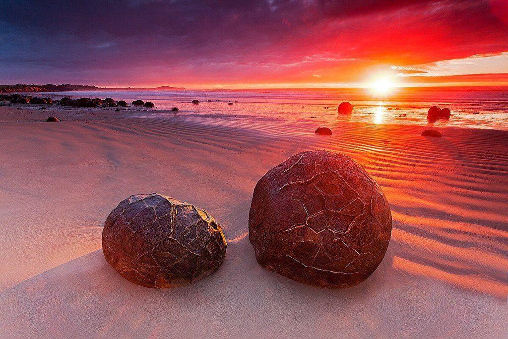 Камни Моераки, Новая Зеландия