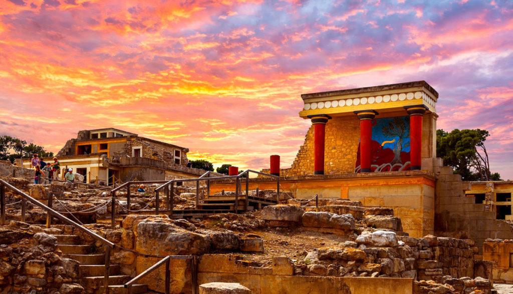 Миноанский дворец Кноссоса