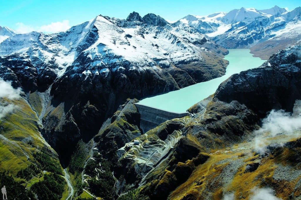 Плотина Гранд-Диксанс, Швейцария-285 метра