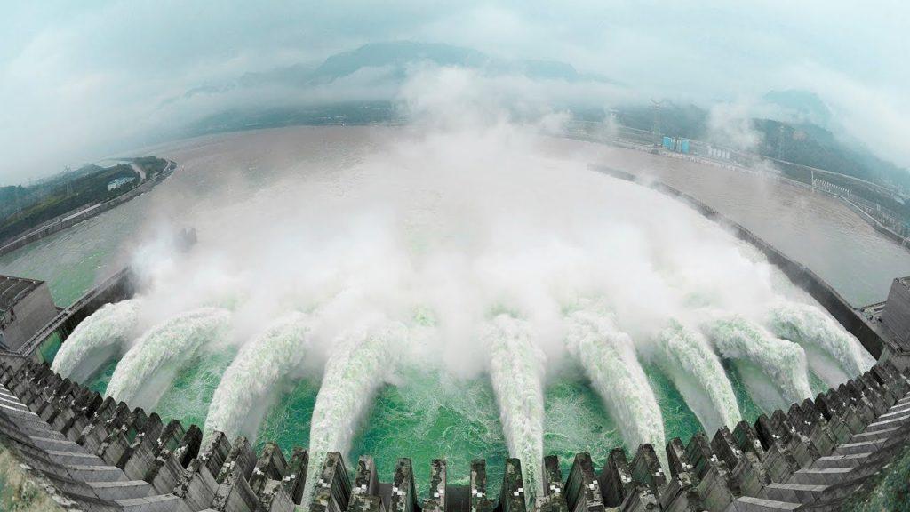 Плотина Xiluodu, Китай -285,5 метров