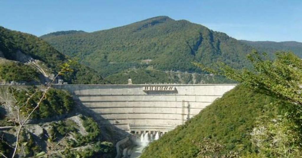 Плотины Nuozhadu, Китай - 261.5 метра