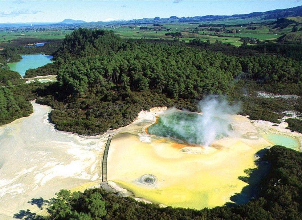 Роторуа, Новая Зеландия