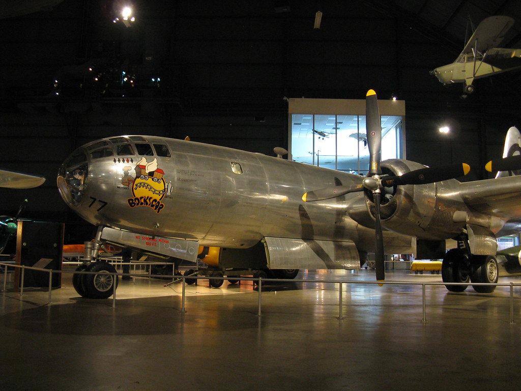 Суперфортресс B-52 под названием Бокскар