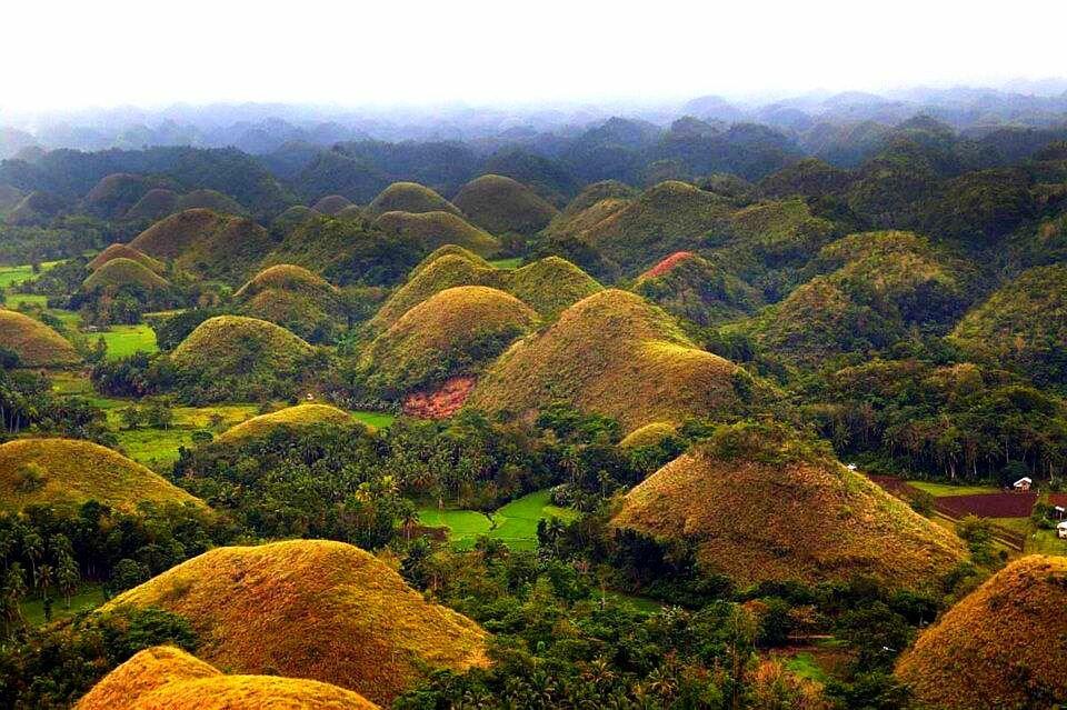 Шоколадные холмы, Филлипины