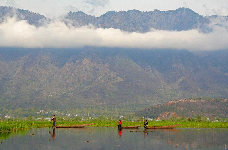 Озеро Дал, Индия