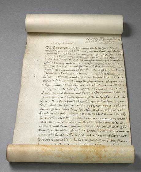 развод в 1701 году