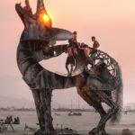 Красивые и креативные металлические скульптуры