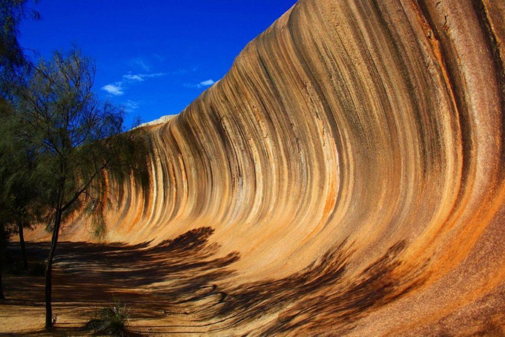 WAVE ROCK, Австралия