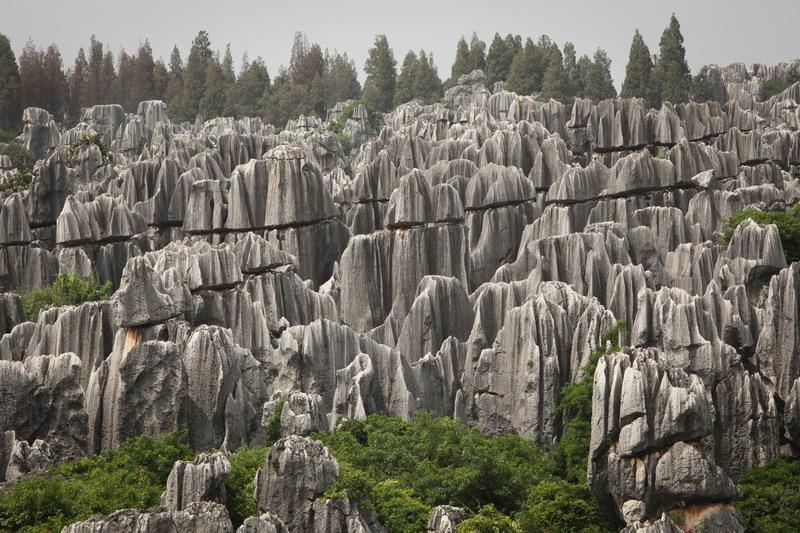 Каменный лес Шилин, Китай