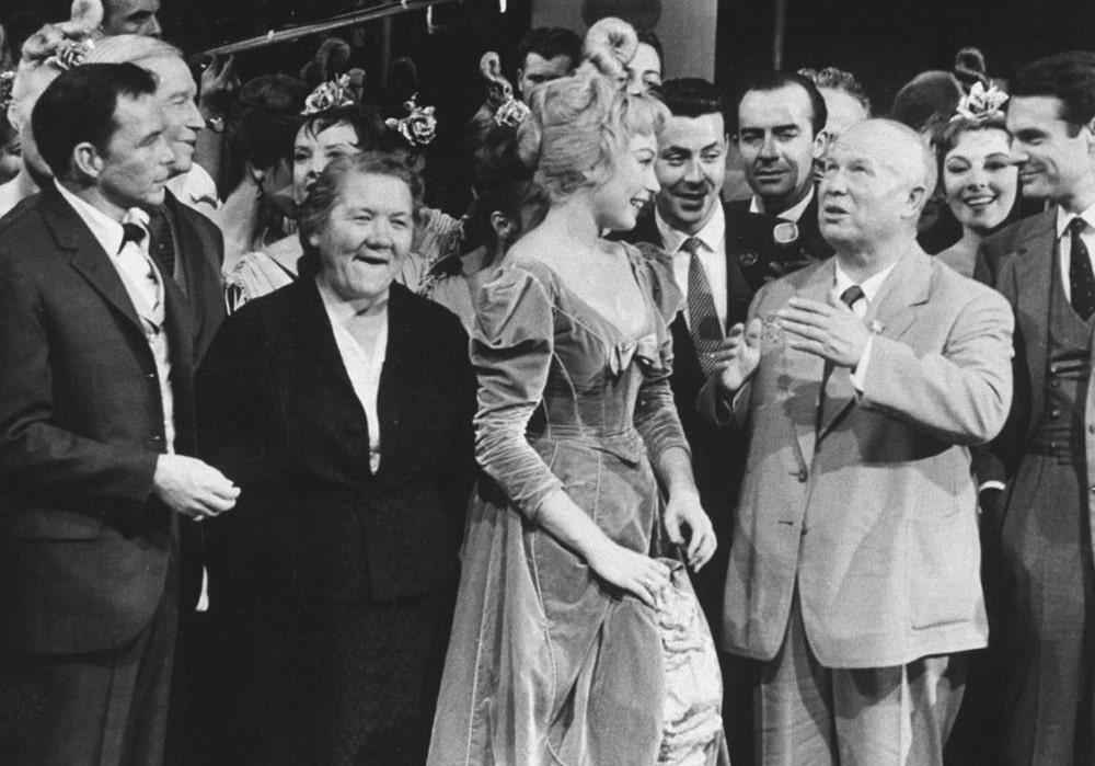 Никита Хрущев посетил Голливуд