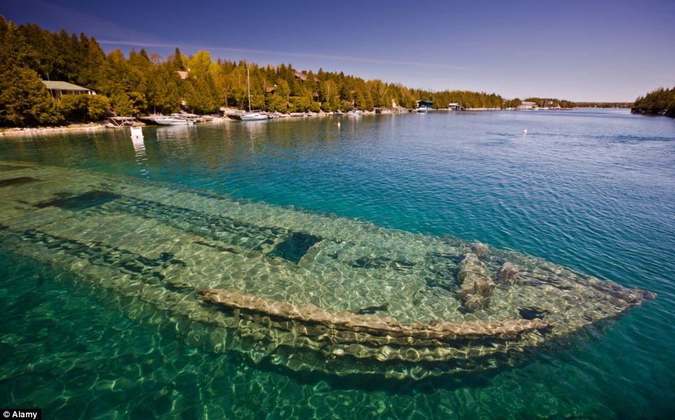 Озеро Гурон, Северная Америка