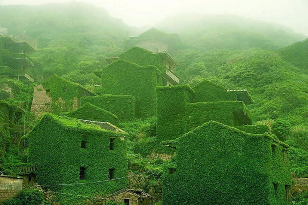 Острова Шэньси в Китае