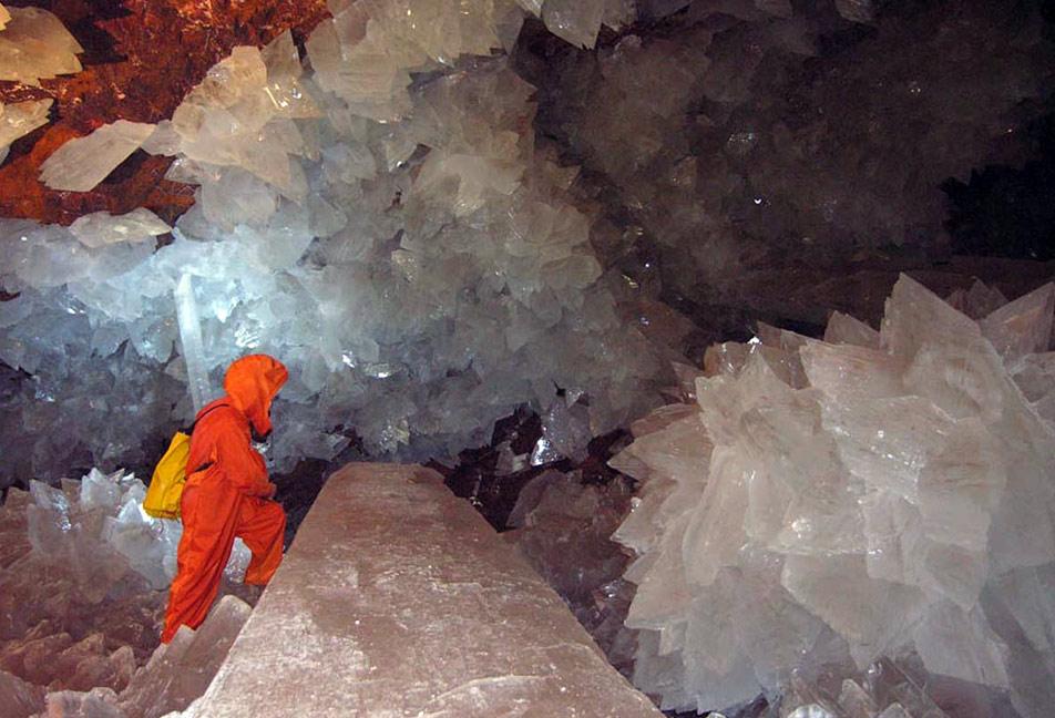 Пещера шахты Наика, Мексика