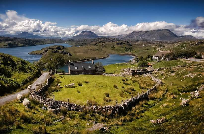 пейзажи Шотландского нагорья