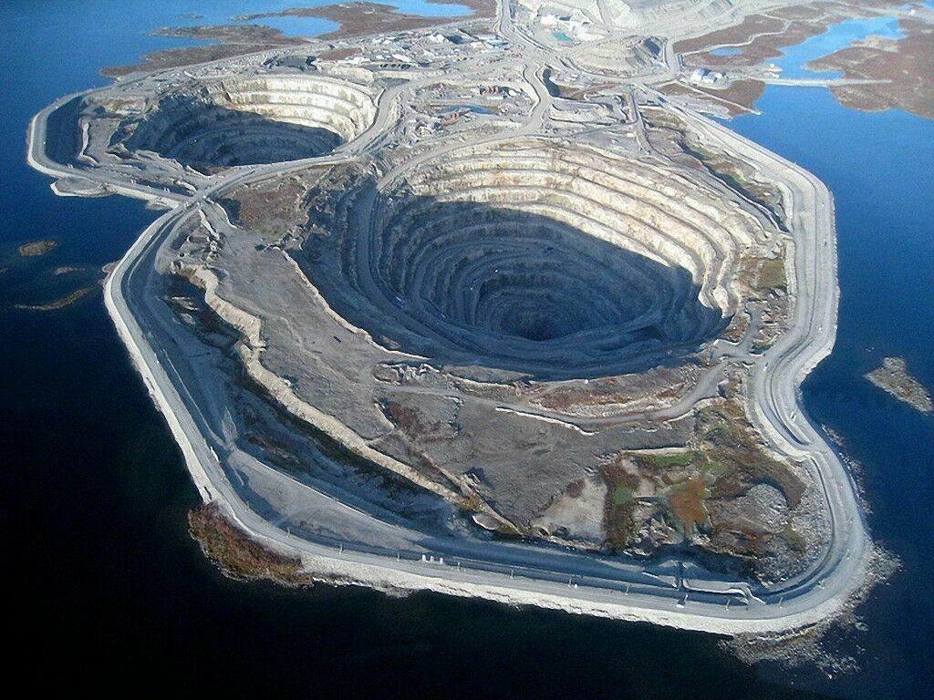 рудник Diavik
