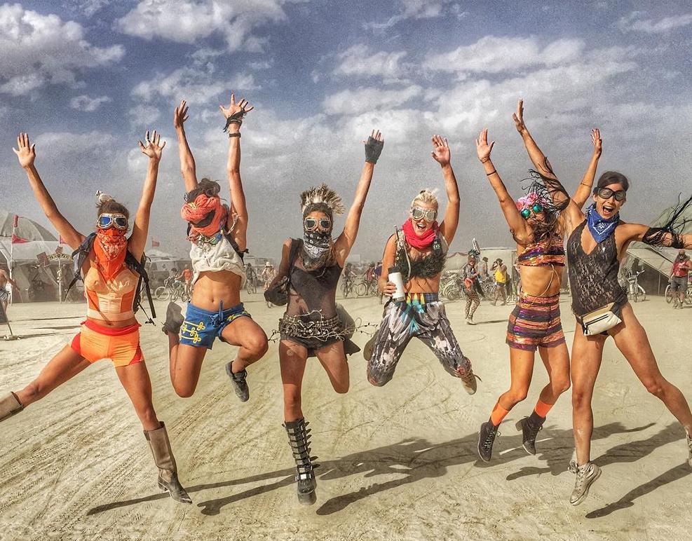 Burning Man, Невада