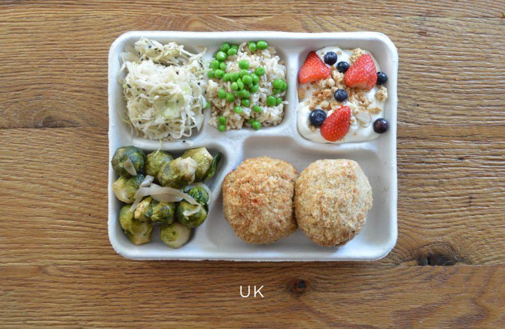 Великобритания школьный обед