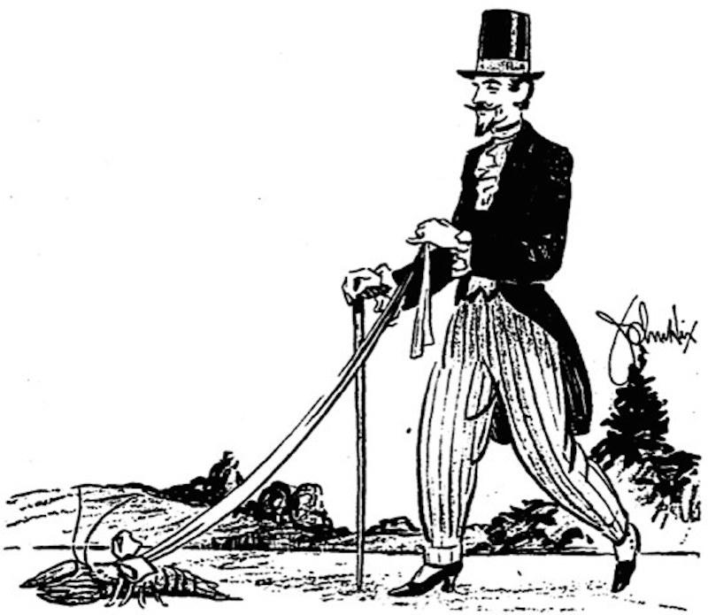 Жерар де Нерваль и его лобстер