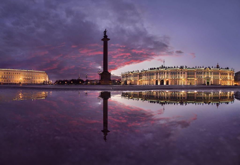 Посещение Дворцовой Площади