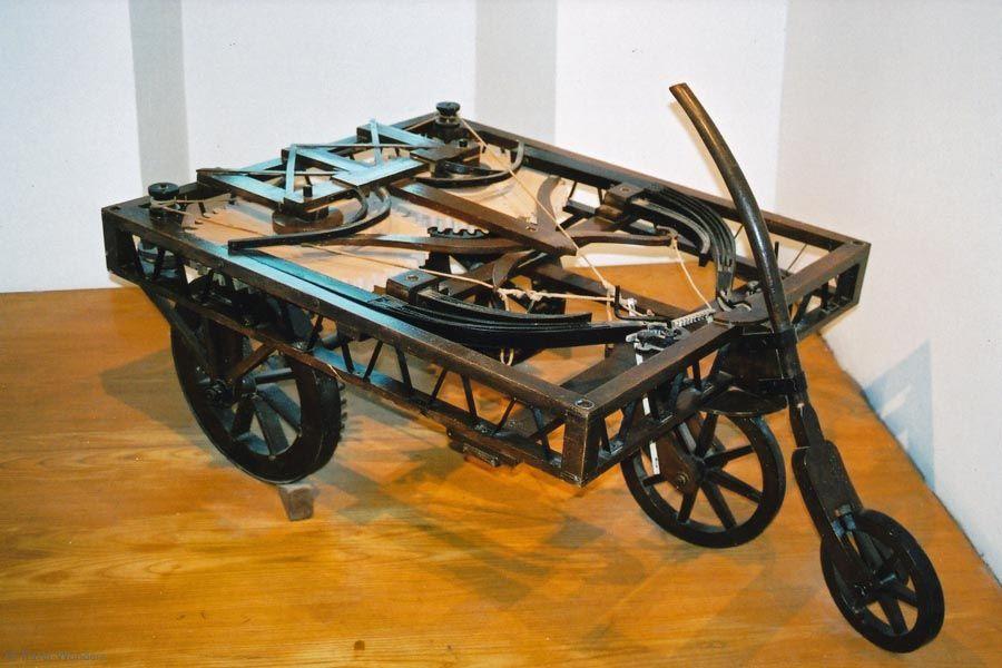 Самоходная тележка (современные автомобили)