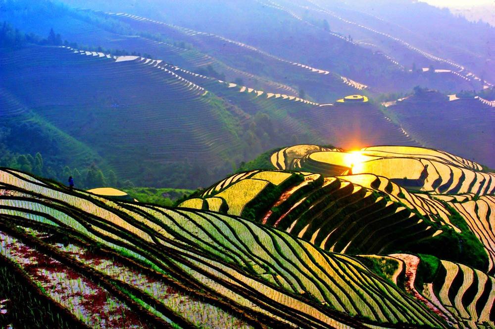 Террасы Лунцзи, Китай