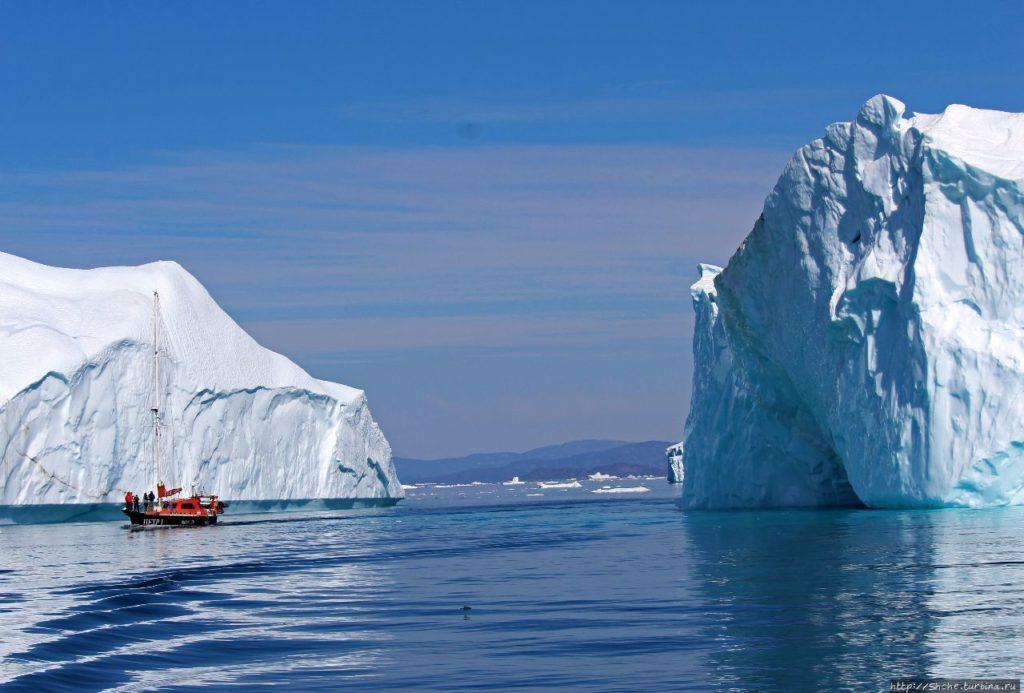 Фьорд Илулиссат, Гренландия