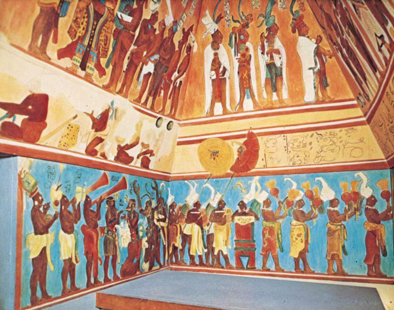 Храм Фресок, Бонампак