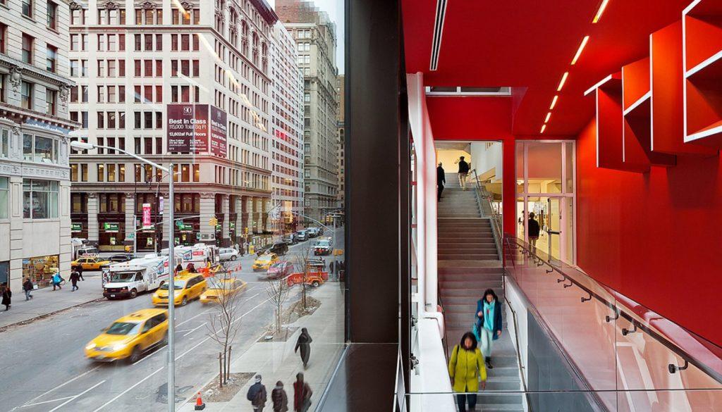 Школа дизайна Парсонса, Нью-Йорк, США