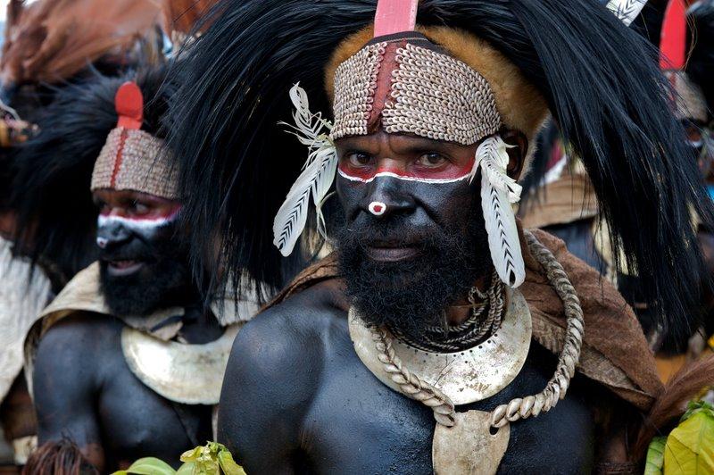 члены племени Фор