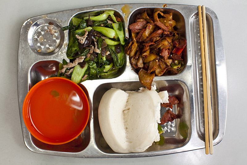 china school lunch