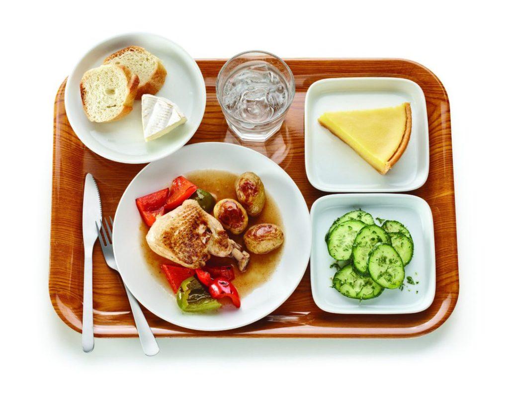 школьный обед Франция