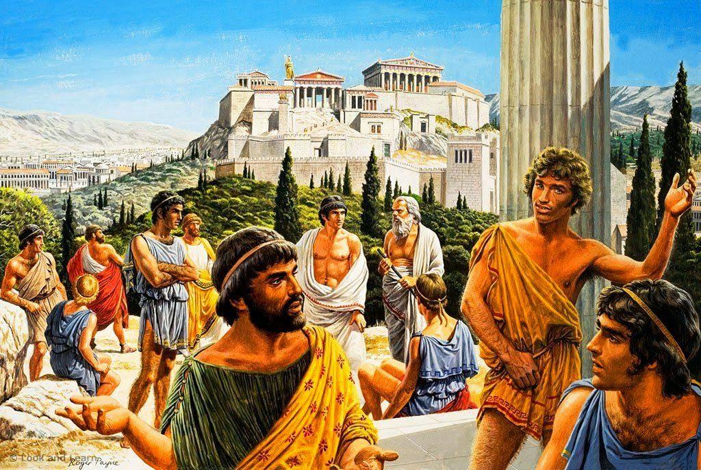 Древняя Греция 800 до н. э.-146 до н. э.