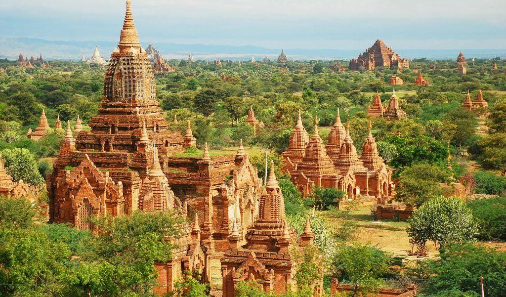 Храмы в Багане, Мьянма