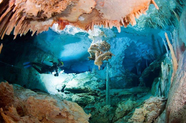 Багамские Пещеры