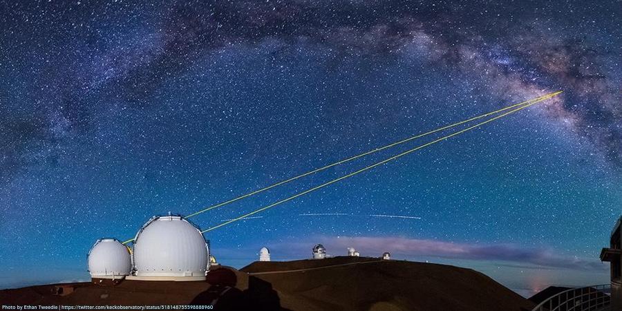 В. М. обсерватории Кека