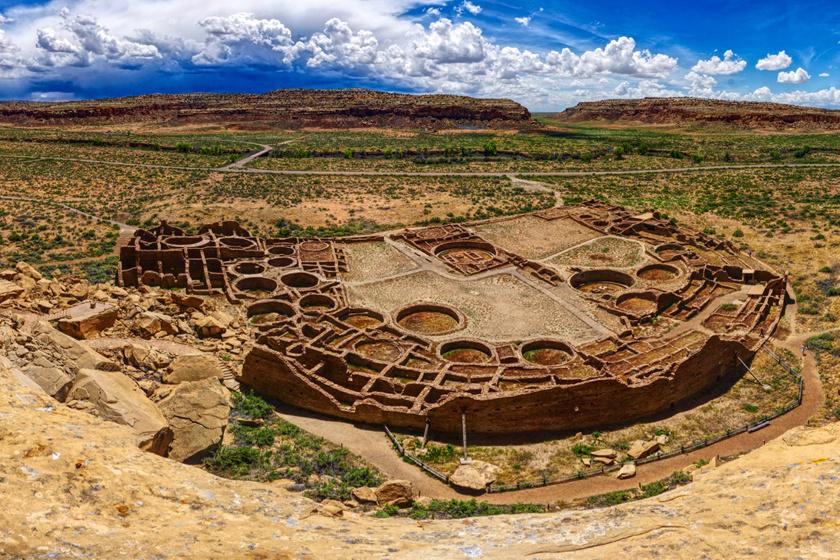 Каньон Чако, штат Нью-Мексико