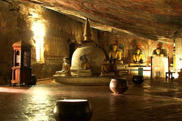 Пещера Дамбулла