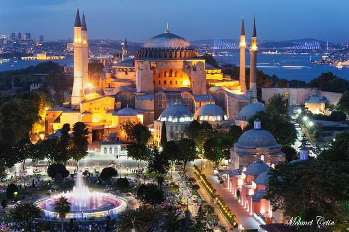 Собор Святой Софии, Стамбул, Турция