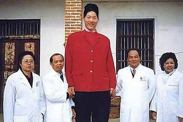 Яо Дефен (233,7 см)