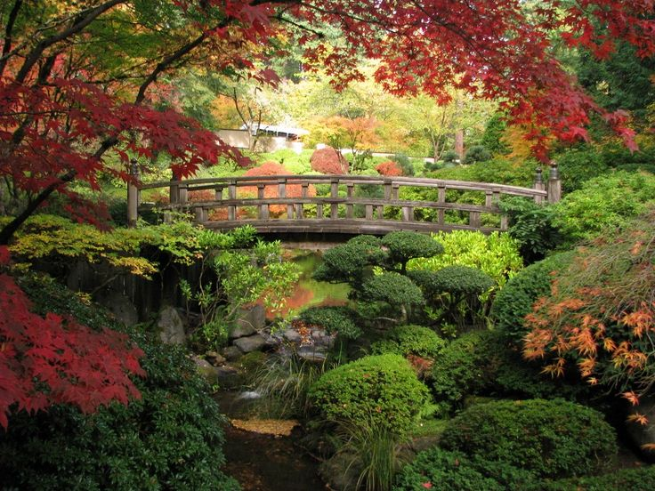 Японский сад Портленда, Орегон, США