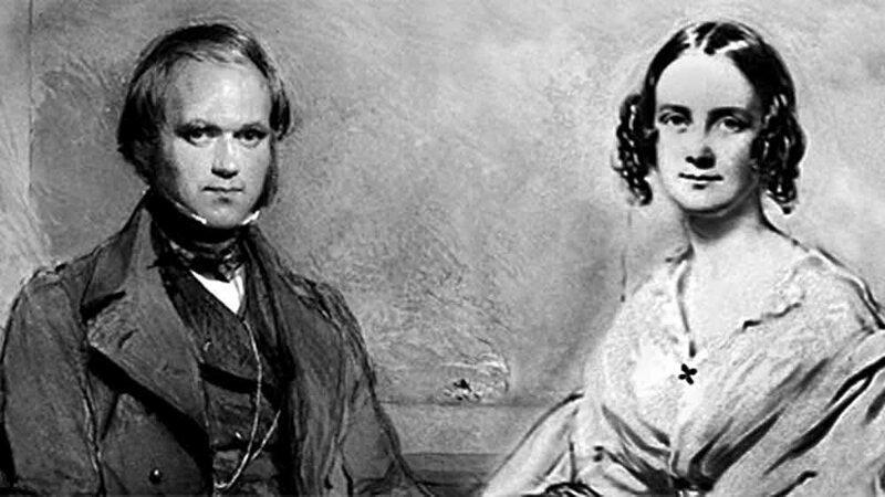 Дарвин женился на своей двоюродной сестре