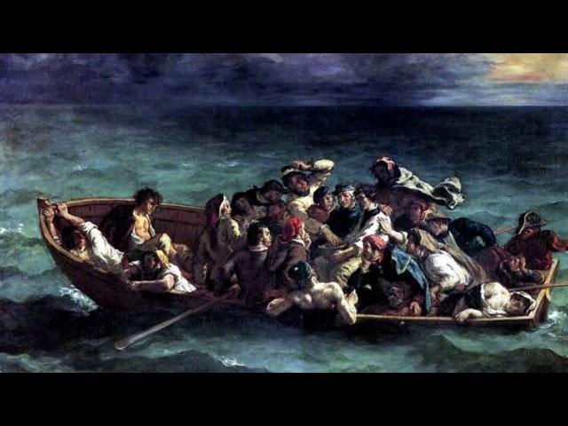 Выжившие на галере Луксборо прибегли к каннибализму, чтобы остаться в живых
