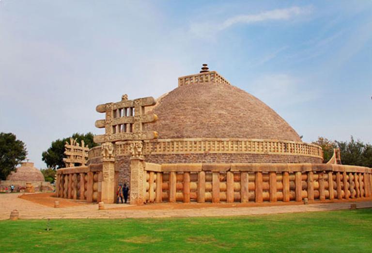 Большая Ступа Санчи, Индия