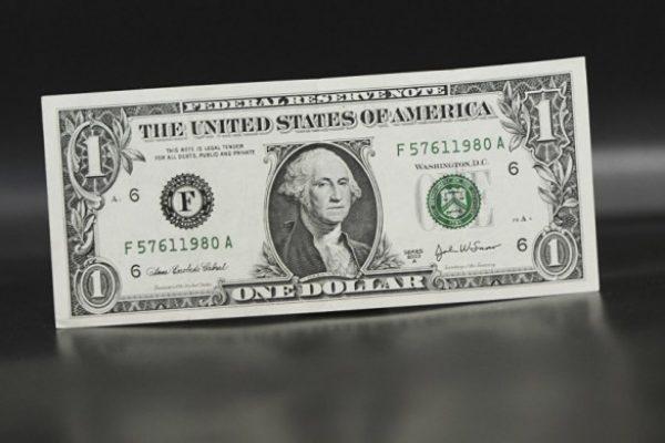 $ 1: Джордж Вашингтон