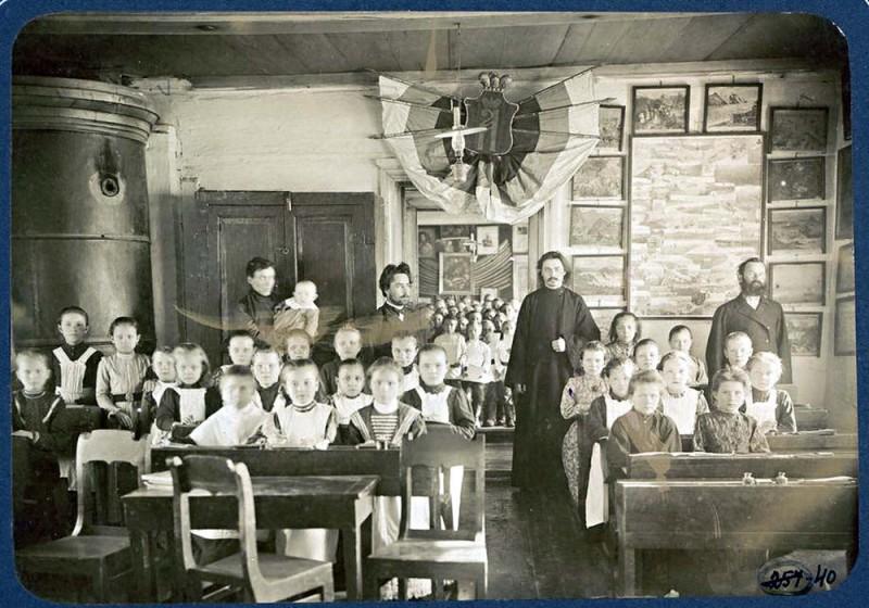 Земская школа, религиозный класс