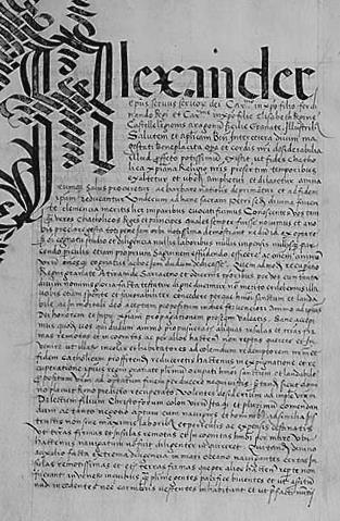 Колумб написал книгу привилегий