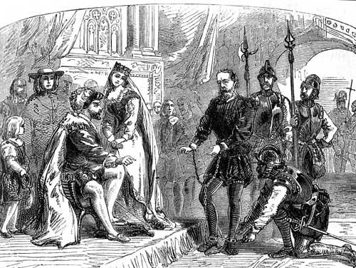 Фердинанд и Изабелла приказали арестовать Колумба и его братьев