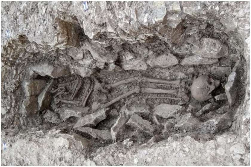 Человеческие окаменелости